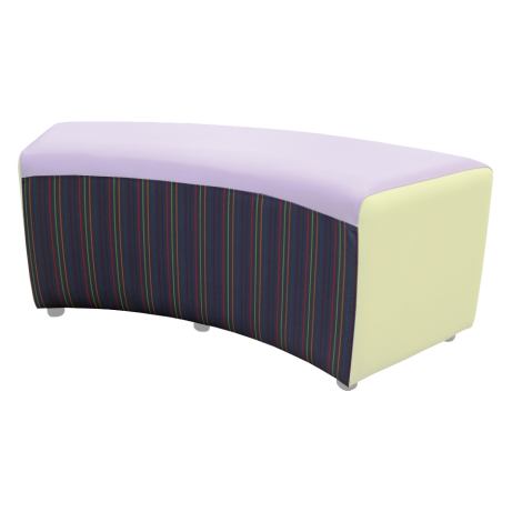 Buzz Curve Seat Accent Fabric
