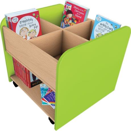 Value High Kinderbox for early years book storage