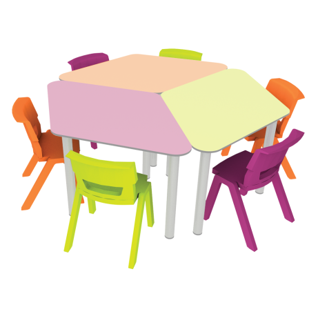 Diamond Table Kit Chairs