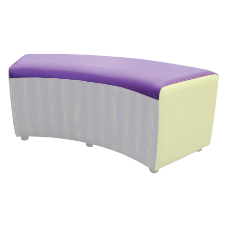 Buzz Curve Seat Patterned Main Fabric