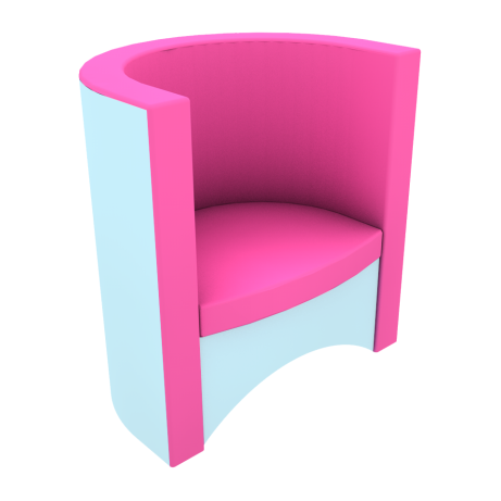 Jackanory Tub Chair Two Tone First Colour
