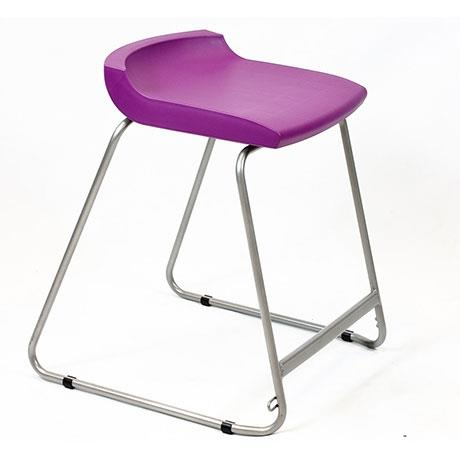 A high level robust stool that can be used with th