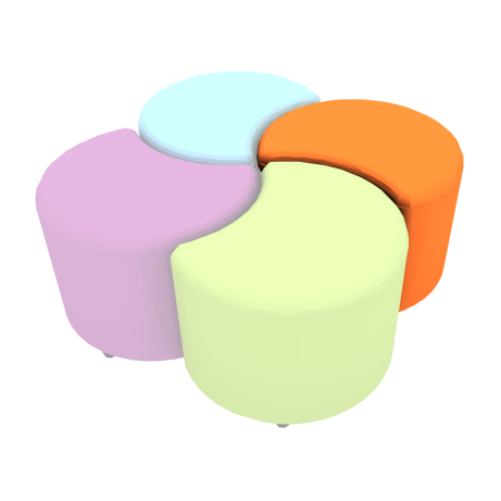 Clover Seating Set Plain Fourth Colour