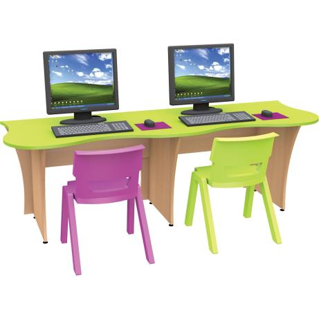 Treetop IT Desk Kit - two seater