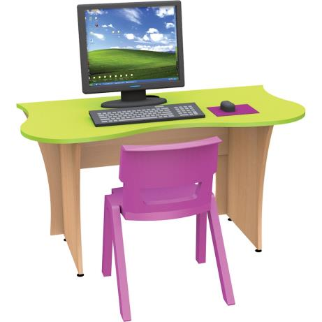 Tree-themed desk and chairs especially suited to I