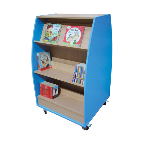 SALE Profile double-sided 1200mm high bookshelf