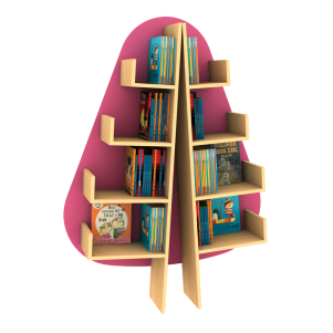 Fir Funky Forest Book Tree