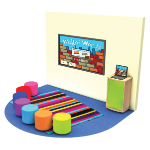 Rainbow Whiteboard Set