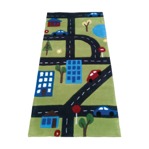 SALE Road Plush Rectangular Rug WAS £38 NOW £25