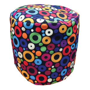 Signature Patterned Bean Stools