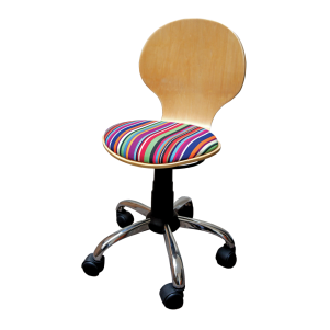 Child Height Operator's Chair Patterned