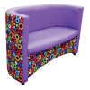 Jackanory Tub Sofa Patterned