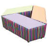 Tilt Seating Set Accent Fabric