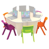 Flower IT Table Chairs