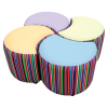 Clover Seating Set Accent Fabric
