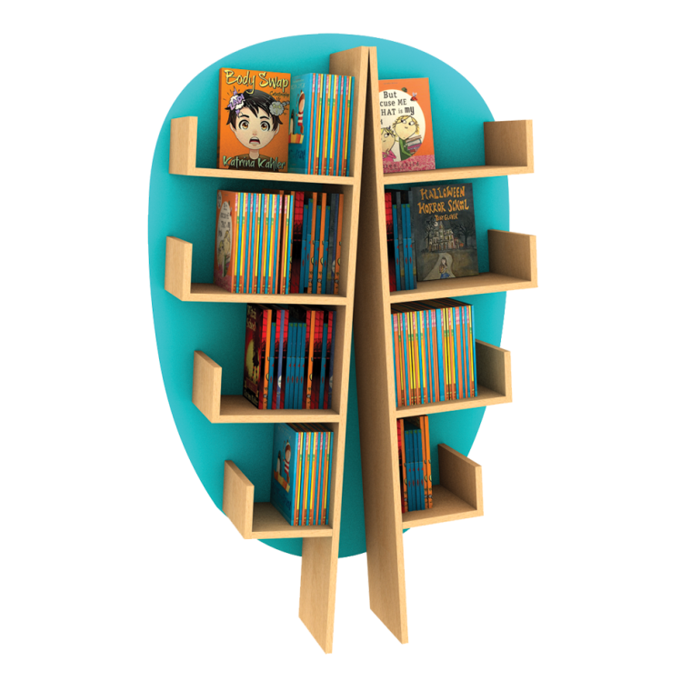 Incube Elm Funky Forest Book Tree