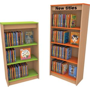 Elements Main Shelving Unit with graphics