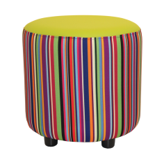 Buzz Drum in Calypso Patterned fabric