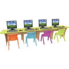 Treetop IT Desk Kit - four seater