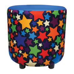 Buzz Drum in Stars Patterned fabric