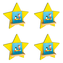 Star Wall Displayer set of 4
