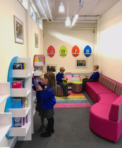 Inkersall library foundation area