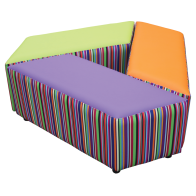 Buzz Tilt Seat Patterned set of three