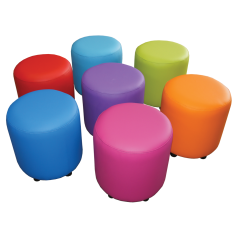 Rainbow Drums Set of 7