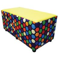Buzz Bench Patterned Honeycomb