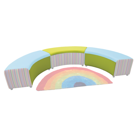 Buzz Reading Circle Main Fabric Colour
