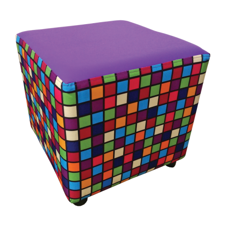 Buzz Cube Patterned