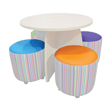 Tuffet Table Drums