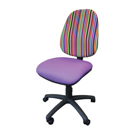 Adult Height Operator's Chair Patterned