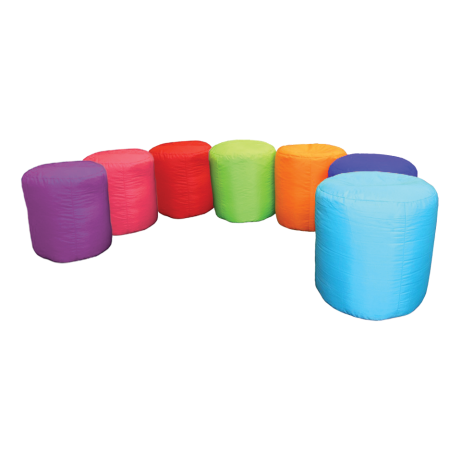 Rainbow Bean Drums Set
