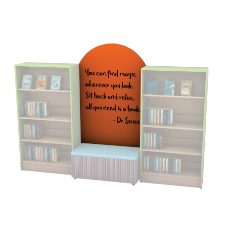 Motto Reading Nook Board Colour