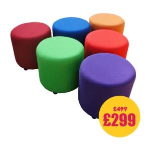 SALE! Rainbow Drums Set