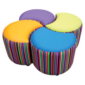 Clover Seating Set Patterned