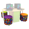 Multimedia Table Kit Accent Fabric